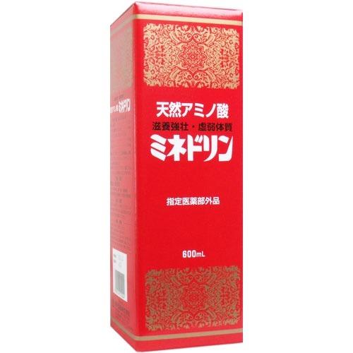 【送料無料・まとめ買い×12個セット】伊丹製薬 天然アミノ酸 ミネドリン 600ml
