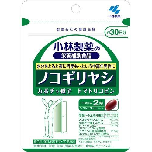 【送料無料・まとめ買い×6個セット】小林製薬 ノコギリヤシ 60粒