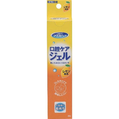 【送料無料・まとめ買い×120個セット】川本産業 口腔ケアジェル 40g レモン風味
