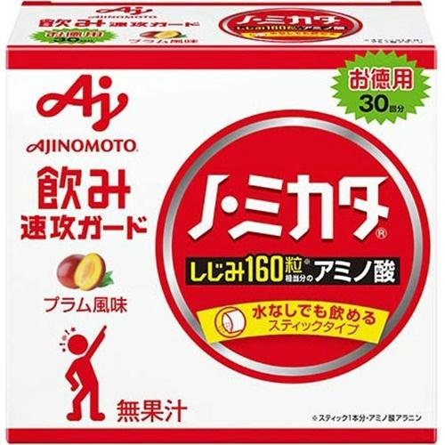 【送料無料・まとめ買い×6個セット】味の素 ノ・ミカタ 30本入 箱