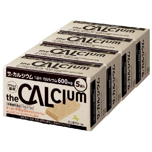 【送料無料・まとめ買い×8個セット】大塚製薬 ザ・カルシウム バニラクリーム 5袋入×4箱セット
