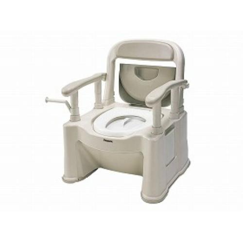 パナソニックエイジフリー ポータブルトイレ座楽背もたれ型SP
