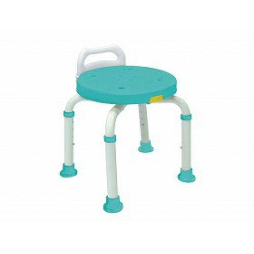 【サマーセール】【送料無料】島製作所 シャワーチェア 楽湯くるまるコンパクトグリーン