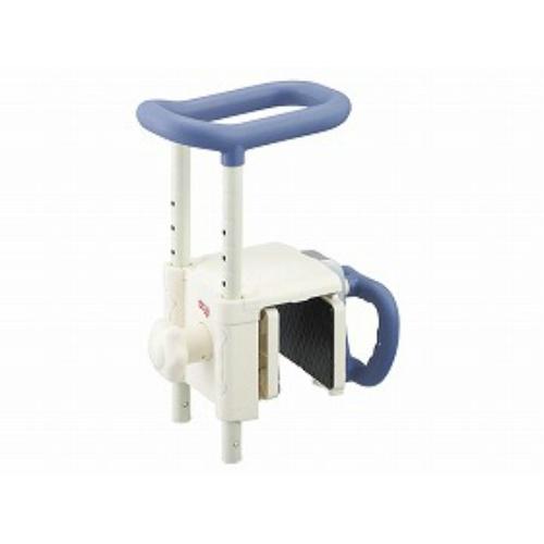 【サマーセール】【送料無料】アロン化成 浴槽手すりUST-130Rブルー