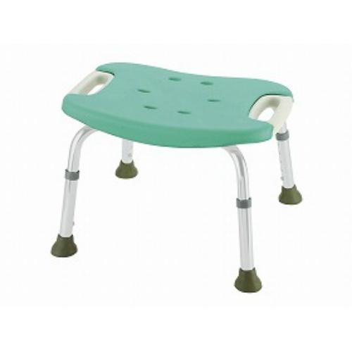 【送料無料】リッチェル やわらかシャワーチェア 背なしワイドグリーン 標準タイプ