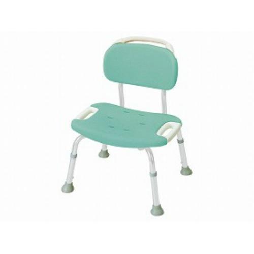 【送料無料】リッチェル やわらかシャワーチェア 背付きワイドグリーン 標準タイプ