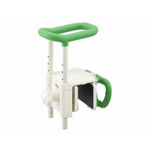 【送料無料】アロン化成 浴槽手すりUST-130Rグリーン