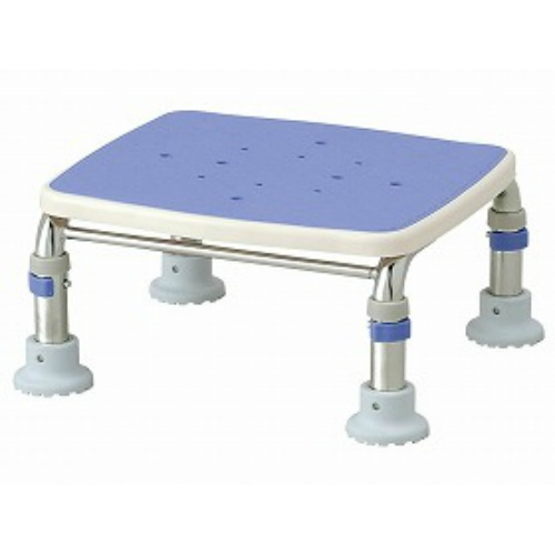 【送料無料】アロン化成 ステンレス製浴槽台Rブルー 15‐20