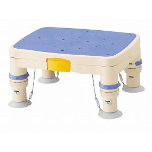アロン化成 高さ調節付浴槽台R(滑り止めシート)ブルー