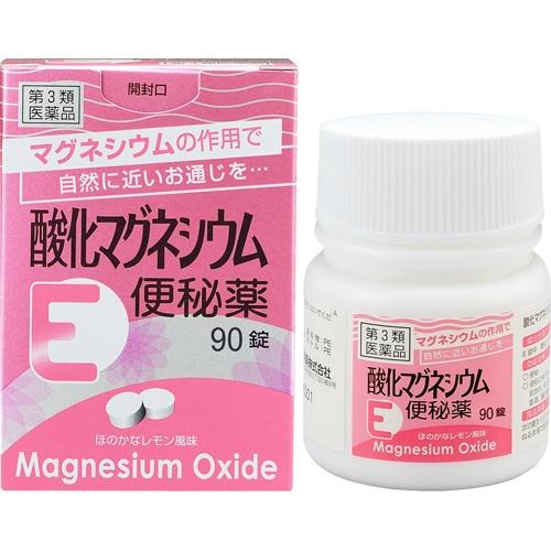 【送料無料・まとめ買い×20個セット】【第3類医薬品】健栄製薬 酸化マグネシウムE 便秘薬 90錠