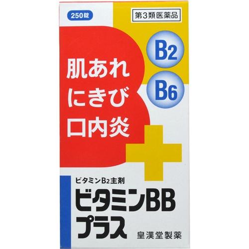 【×10個セット送料無料】【第3類医薬品】 ビタミンBBプラス クニヒロ 250錠