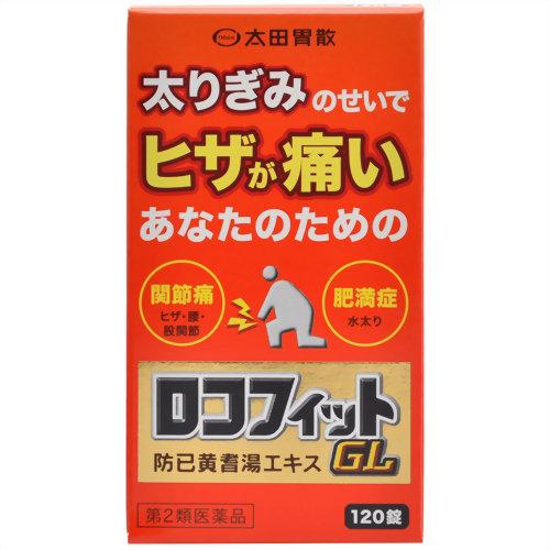 【送料無料・まとめ買い×10個セット】【第2類医薬品】ロコフィットGL 120錠