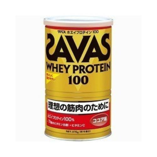 【送料無料・まとめ買い×4個セット】明治 ザバス SAVAS ホエイプロテイン 100ココア 378g