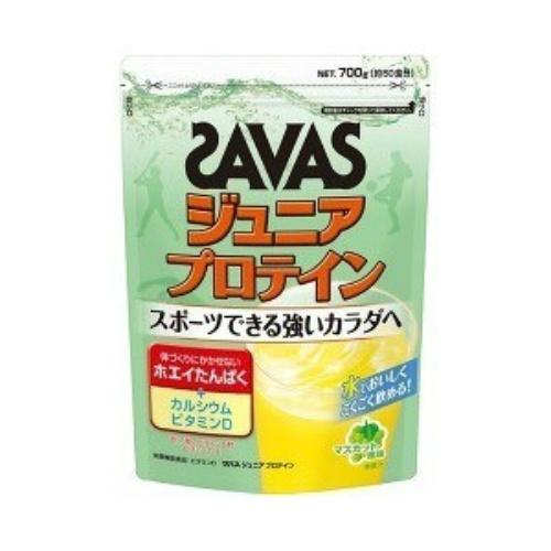 【送料無料・まとめ買い×2個セット】明治 ザバス SAVAS ジュニアプロテイン マスカット風味 700g