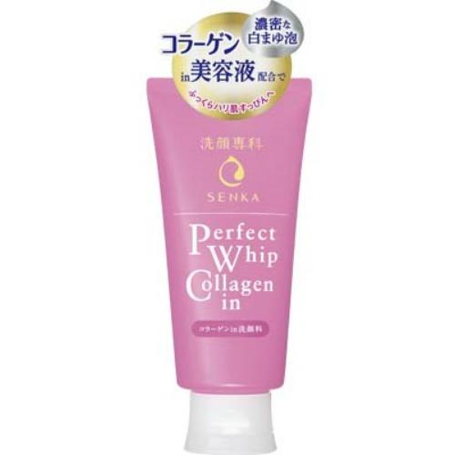 【×24個セット送料無料】資生堂 洗顔専科 パーフェクトホイップ コラーゲン in 洗顔料 120g