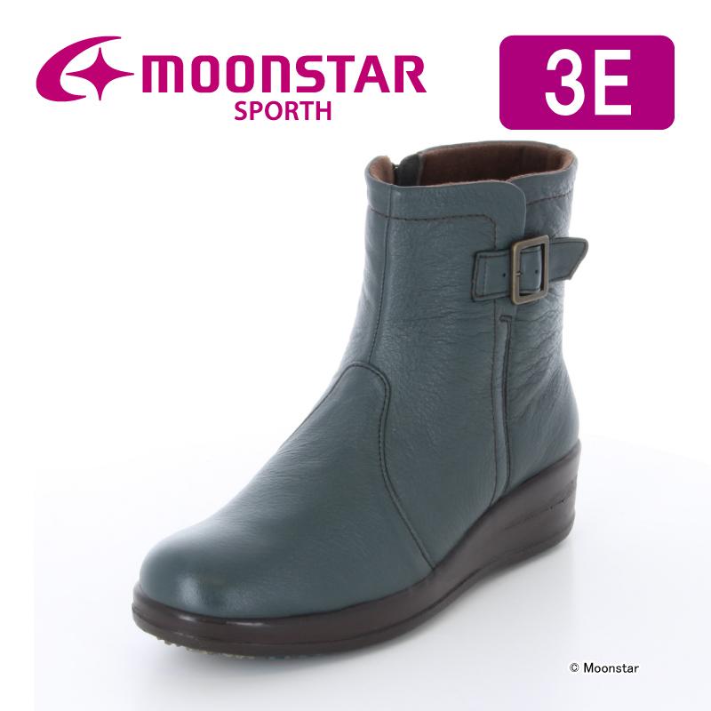 【アウトレット】 【ムーンスター スポルス】 【婦人靴】 SP0270WP 【コンフォートブーツ】 ダークブラウン 【送料無料】