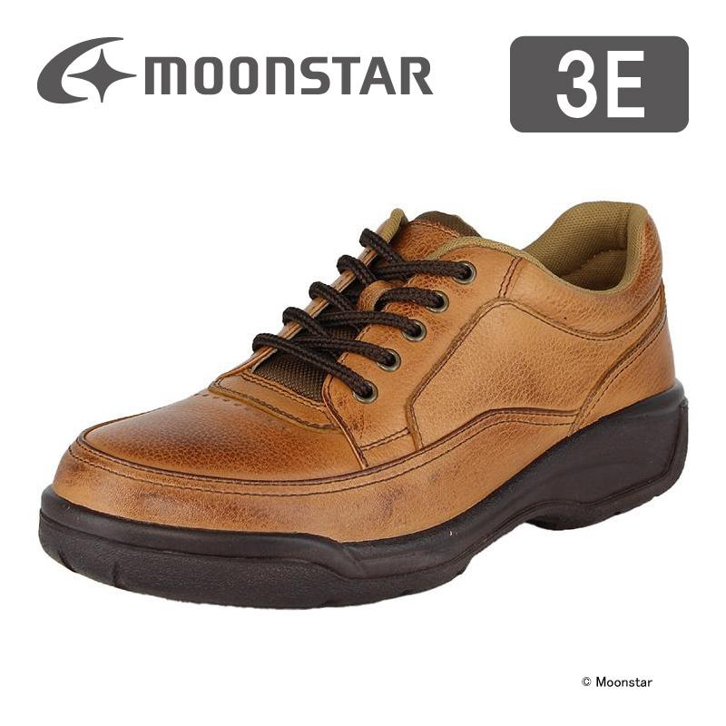 ムーンスター メンズ コンフォート シューズ SP8900 ブラウンカタ moonstar 3E 撥水加工 国産