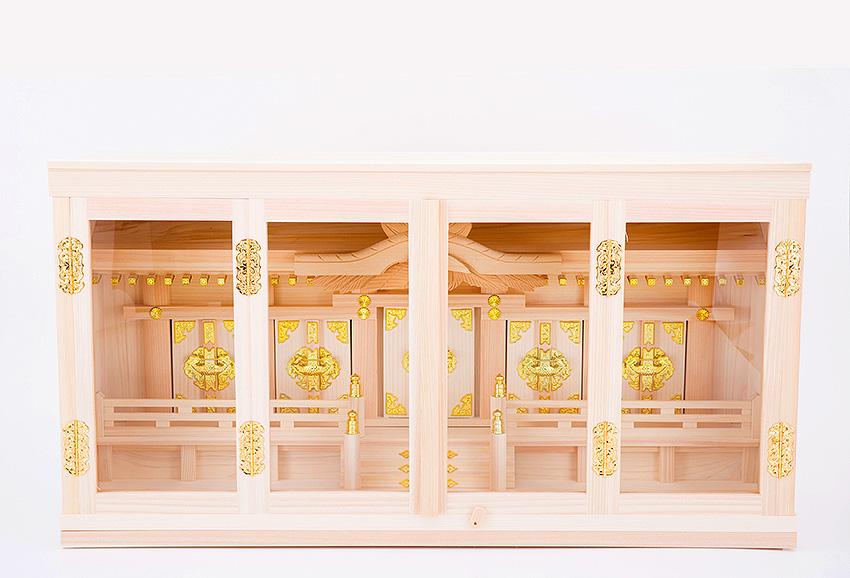 神棚 箱宮 27号 五社神棚 【箱形神棚】