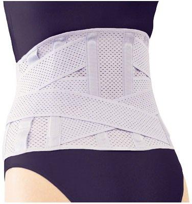 【送料無料】お医者さんのがっちりコルセット 3L~5L/3重のベルトでがっちり腰を支えます。(ev)