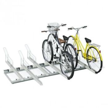 【送料無料】ダイケン 自転車ラック スライドラック 基準型 SR-S6 6台用【代引き不可】