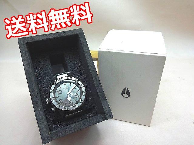 【中古】NIXON ニクソン 42-20 TIDE ALL GUNMETAL 腕時計 メンズ クォーツ【ゆうパック指定と沖縄・離島などの一部地域は送料有料での発送となります】