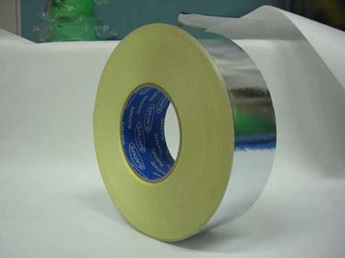 アルミ箔粘着テープ 50mm巾×50m 30巻 空調ダクトシール 保温材目地シール 赤外線探知用
