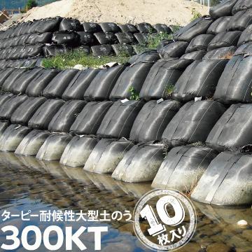 耐候性 大型土のう300KT長期対応型 3年BLACK10枚萩原工業 HAGIHARA