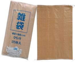 雑袋 209 絞り紐付 60×90cm 200枚廃材ゴミ専用袋萩原工業 HAGIHARA