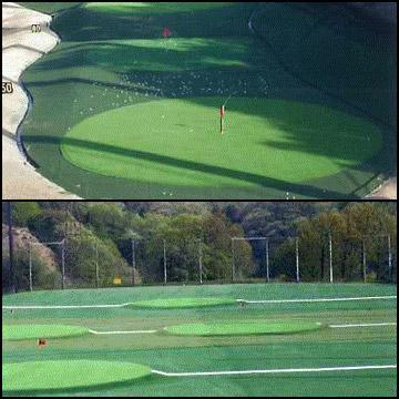 【ポイントUP祭】人工芝TG-15182cm幅×15m芝長さ15mm耐候性ナイロン製ゴルフ練習目標グリーン用