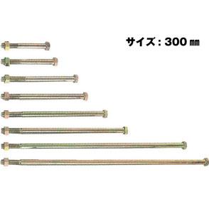 Z ゼット Z六角ボルト M16 M16×300mm 50本 417-3300 基礎 内装 構造金物 土台