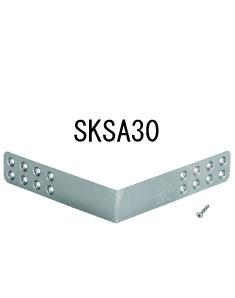 栗山百造 クリ金折れ金物 SKSA SKSA30 30個 443-5030 基礎 内装 構造 土台