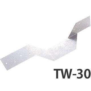 山菱 あおり止め金物 TW-30 100個 414-1030 基礎 内装 構造 土台