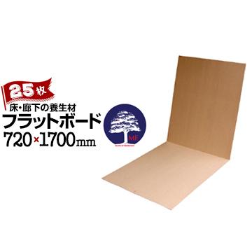 エムエフ MF フラットボード25枚厚さ 2mm720mm×1700mm床 廊下の保護に 床養生材 再生パルプ材 床養生ボード 二つ折り 屋内用