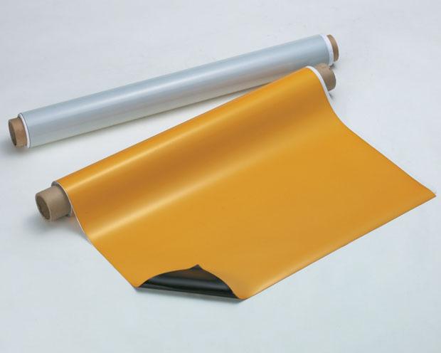 マグネスパークシート 厚み0.8mmX900mmX10m 1本 光を反射し夜間でもクッキリ識別 オフィス用品 ホワイトボード 黒板 冷蔵庫 磁石