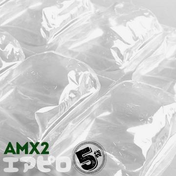 【ポイントUP祭】エアピロ AMX2 粒サイズ:80×125×35mm 5袋 引っ越し資材 引越し用品 養生材 緩衝材 エアクッション 断熱 充填梱包材 クッション材 ピロー型 プチプチ ぷちぷち エアキャップ ポリアミド すきま埋め