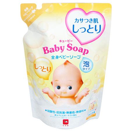 丘身體滋潤嬰兒肥皂泡沫 350 毫升筆芯