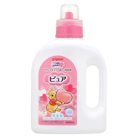 Pigeon baby laundry pure bottle 900 ml ★ total 1980 yen or more at ★