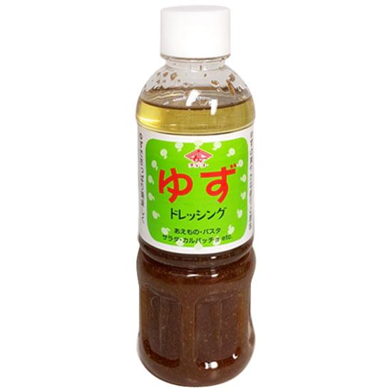 柚子でさっぱり美味しく!あっさりタイプのドレッシング 【チョーコー】  チョーコー醤油 ゆずドレッシング 400ml