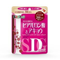 Medicine food same source hyaluronic acid and アキョウ 60