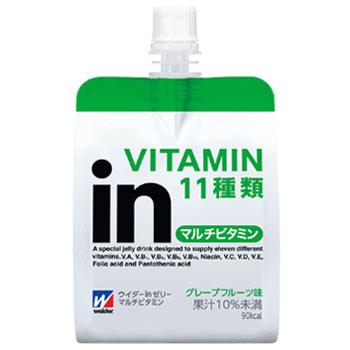 uida in果凍多維生素西柚味道180g