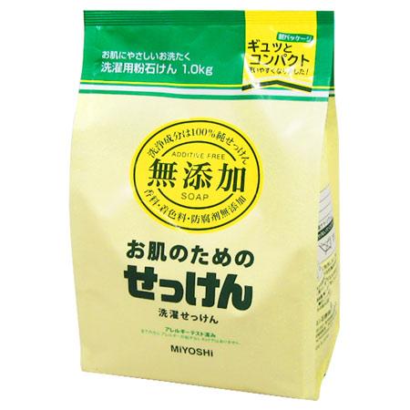 Miyoshi SOAP-free skin for washing powdered SOAP 1.0 kg