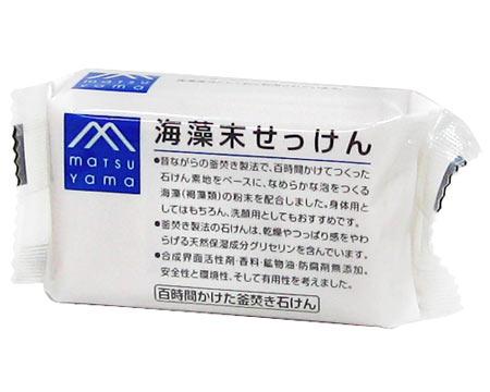 Matsuyama oil M mark seaweed powder SOAP 100 g