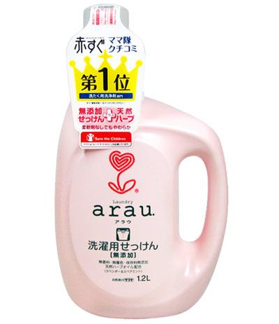 arau. (Arau) for laundry soap ( in liquid )1.2L ★ total 1980 Yen more than it ★