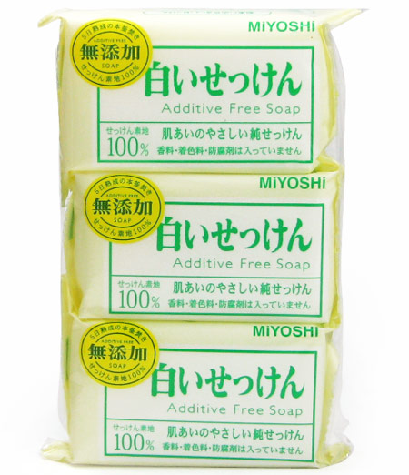 Miyoshi additive free SOAP 3's into ★ total 1980 Yen over ★