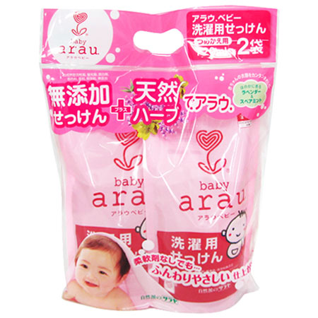 亞勞嬰兒洗衣肥皂筆芯套 (720 毫升 × 2 個)