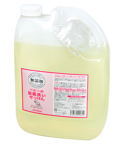 Miyoshi mutenka SOAP-free baby underwear washing soap for 5 l (with nozzle refill replacement for)