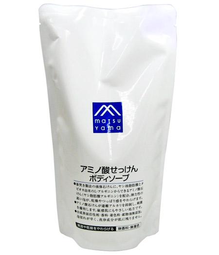 松山石油業並購馬克氨基酸 SOAP 正文肥皂筆芯 600 毫升