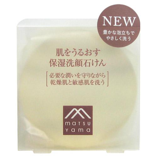 ついに入荷 供え リニューアル 肌をうるおす保湿洗顔石鹸 枠練り石けん 松山油脂 保湿洗顔石けん 90g 肌をうるおす