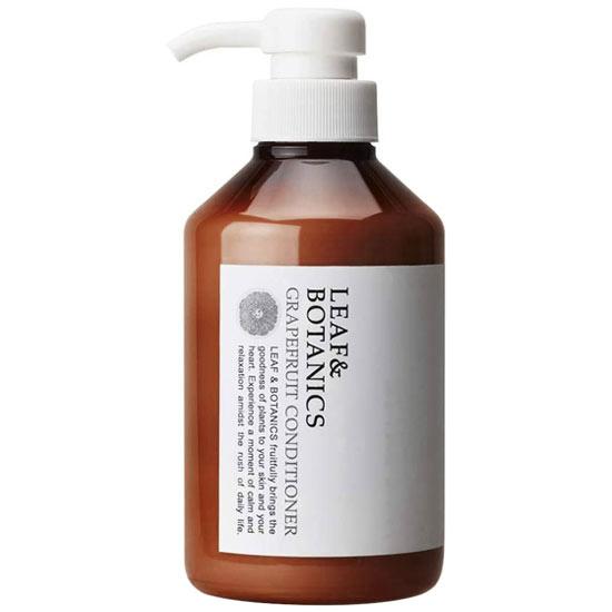 2020 LEAFBOTANICS コンディショナーGL 即納最大半額 天然精油の香り ノンシリコンリンス 松山油脂 リーフ コンディショナー ボタニクス 400mL GL グレープフルーツ