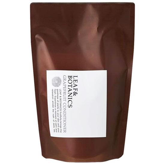 LEAFBOTANICS コンディショナーGL 天然精油の香り ノンシリコンリンス 松山油脂 リーフ 370mL GL お得 グレープフルーツ 詰替用 コンディショナー ボタニクス 期間限定お試し価格